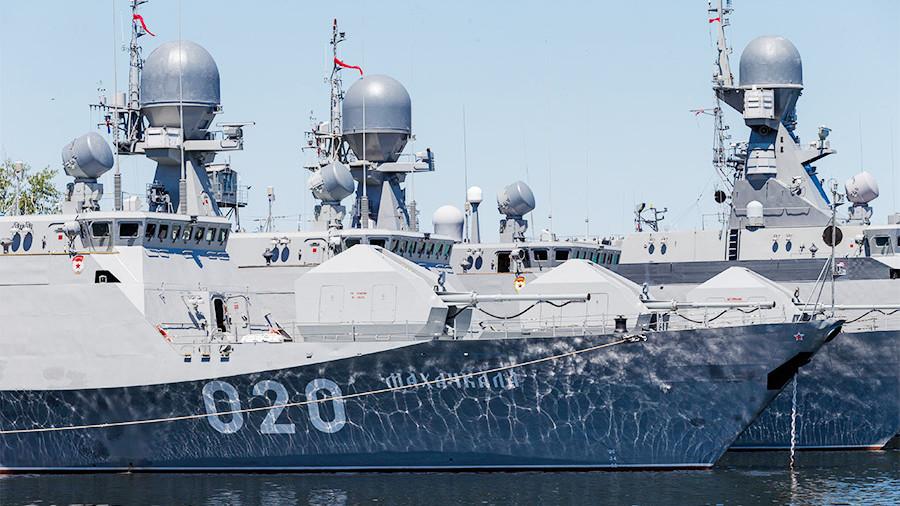 Свыше 50 кораблей смогут базироваться в Каспийске после завершения строительства